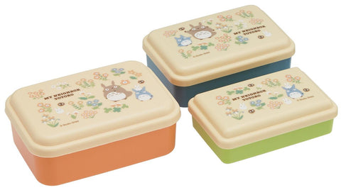 My Neighbour Totoro: Totoro Nested 3-Piece Bento Set