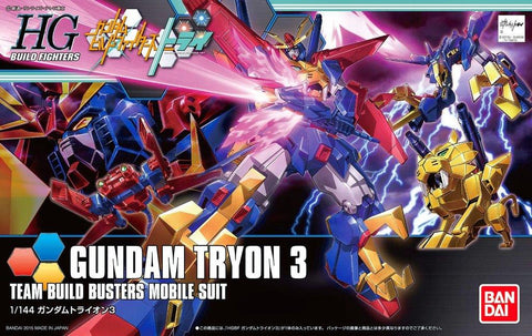 Gundam: Gundam Tryon 3 HG (Gundam Build Fighters) Model