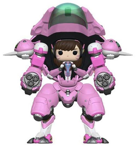 "Overwatch: D.Va & Meka 6"" Buddy Pop Vinyl"