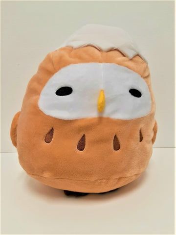 "Amuse: Baby Owl in Shell 12"" Plush"