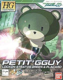 Gundam: Petit'Gguy Lockon Stratos Green & Placard HG Model