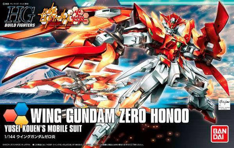 Gundam: Wing Gundam Zero Honoo HG (Gundam Build Fighters) Model