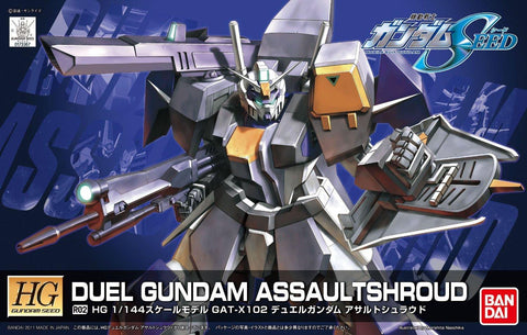 Gundam: R02 Duel Gundam Assaultshroud HG (Gundam Seed) Model