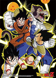 Dragon Ball Z: Saiyan Saga Wall Scroll