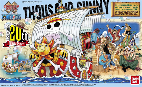 One Piece: Thousand Sunny Memorial Colour Ver. (Grand Ship Collection)