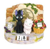 Kiki's Delivery Service: Jiji and Lily Perpetual Calendar
