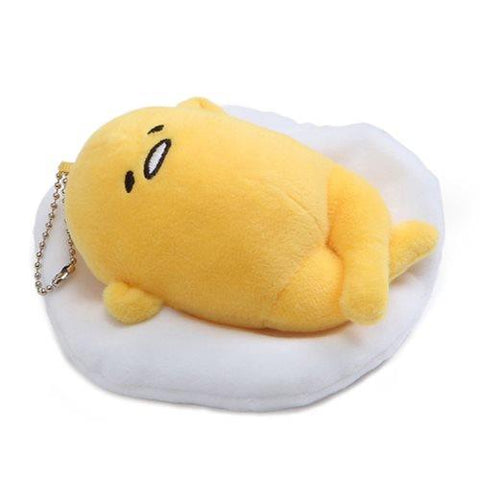 Gudetama: Gudetama Laying Face Up Plush Key Chain
