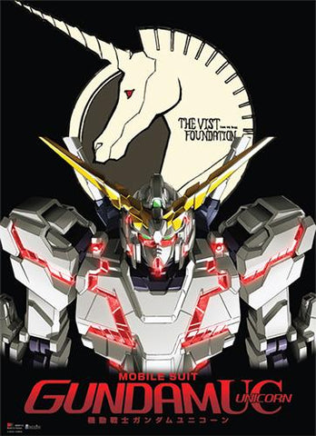 Gundam: Unicorn Gundam Destroy Mode Wall Scroll