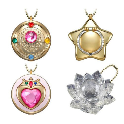 Sailor Moon: Mini Compact Charm (Transformation Brooch, Star Locket, Prism Heart Compact or Silver Crystal)