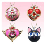 Sailor Moon: Compact Candy Box Charm (Crystal Star Brooch, Cosmic Heart Compact, Crisis Moon Compact, Luna P Ball)