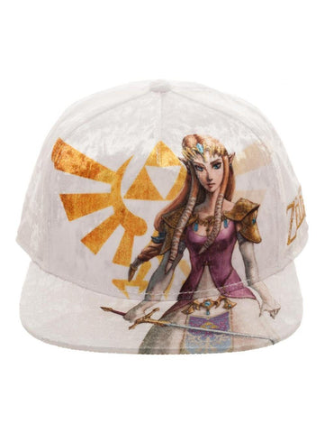 Legend of Zelda: Zelda Velvet Snapback Hat
