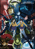 Black Rock Shooter: Girls Collage Fabric Poster