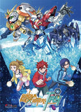Gundam: Build Fighters Try Key Art Fabric Poster