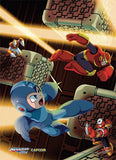Mega Man: Escape Fabric Poster
