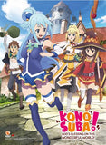 Konosuba: Key Art High End Wall Scroll