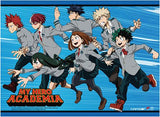 My Hero Academia: Group Running High End Wall Scroll
