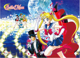 Sailor Moon: Group Illuminated Path High-End Wall Scroll