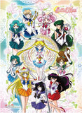 Sailor Moon: Sailor Scouts & Chalice Hi-End Wall Scroll