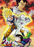 Dragon Ball Z: Goku vs. Frieza Special Edition Wall Scroll