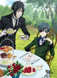 Black Butler: Ciel & Sebastian Tea Time Wall Scroll