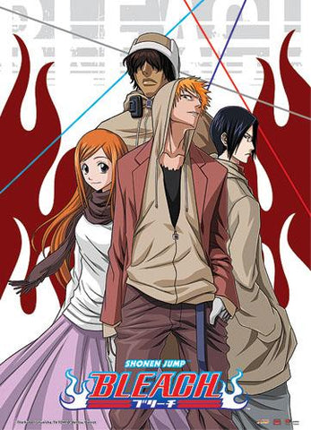Bleach: Group Casual Wall Scroll