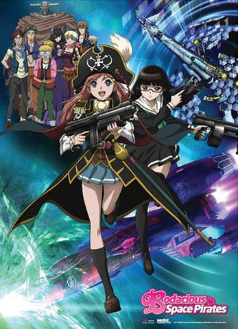 Bodacious Space Pirates: Key Art Wall Scroll