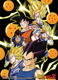 Dragon Ball Z: Vegita, Goku & Vegito Wall Scroll