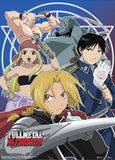 Fullmetal Achemist: Group Blue Wall Scroll