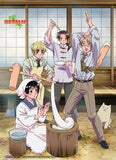 Hetalia: Mochi Party Wall Scroll