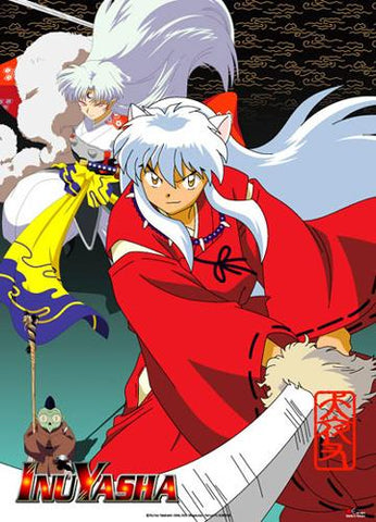 Inuyasha: Inuyasha & Sesshomaru Wall Scroll