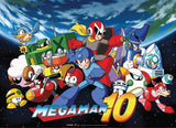 Mega Man: 10 Key Art Wall Scroll