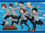 My Hero Academia: Group Running Wall Scroll
