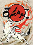 Okami: Amaterasu Wall Scroll