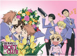 Ouran High School Host Club: Haruhi & Flowers Wall Scroll