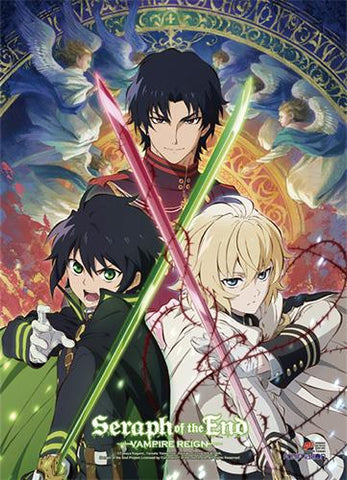 Seraph of the End: Key Art Wall Scroll
