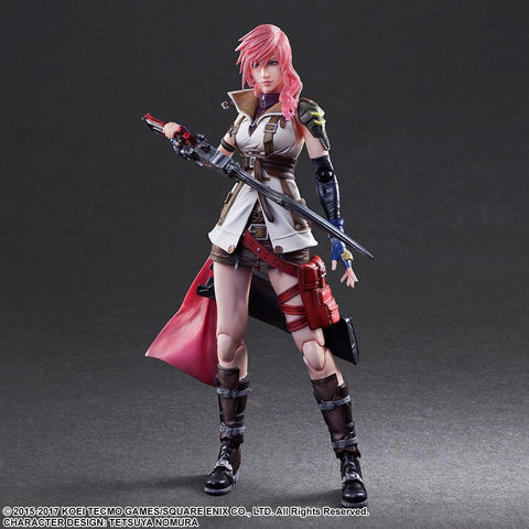 Final Fantasy Dissidia: Lightning Play Arts -Kai- Action Figure