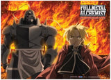 Fullmetal Alchemist Brotherhood: Ed & Al Fire Wall Scroll