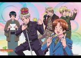 Hetalia: Musical Group Wall Scroll