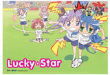 Lucky Star: Group Football Wall Scroll