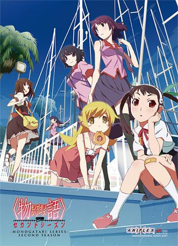 Bakemonogatari: S2 Key Art Wall Scroll