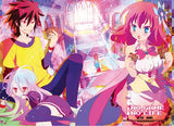 No Game No Life: Cards Wall Scroll