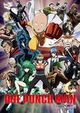 One Punch Man: Group Wall Scroll