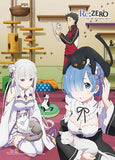 Re:Zero: Group & Cats Wall Scroll