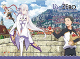 Re:Zero: Emilia, Subaru & Felt Wall Scroll