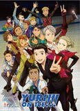 Yuri!!! on Ice: Key Art High-End Wall Scroll