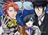 Black Butler: Book of Circus Smile, Black & Joker High-End Wall Scroll