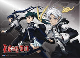 D. Gray-man: Group Dash Wall Scroll