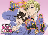 Ouran High School Host Club: Chibi Club Wall Scroll