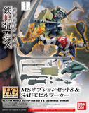 Gundam: MS Option Set 8 & SAU Mobile Worker HG Model Option Pack