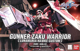 Gundam: Lunamaria Gunner Zaku Warrior HG Model
